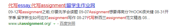 google搜索assignment代写网站