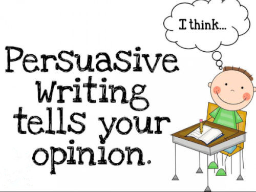 Persuasive Essay写作题目