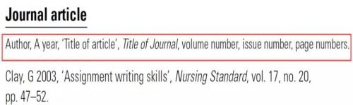 journal文献种类