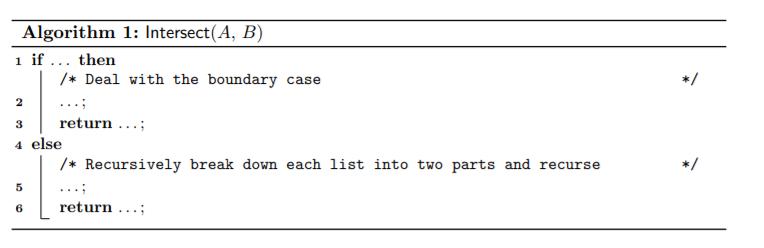 Algorithm 算法作业